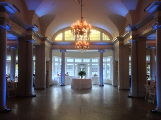 The National Museum Of Dance Music Man Entertainment Dj Mike Garrasi Up  Lighting