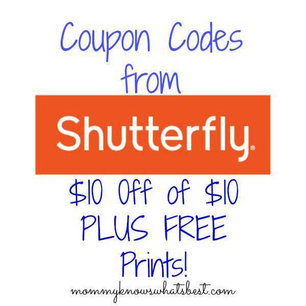 Shutterfly Promo Codes 2015