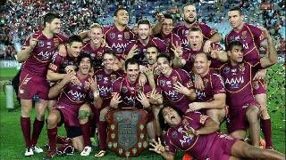 QLD State of Origin 8 in a row 2013. We are the champions of Australia!