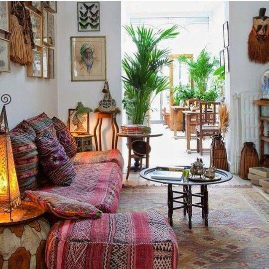 Meer dan 1000 idee n over etnische huis inrichting op pinterest wandtapijten huisdecoratie en - Tijdschrift chic huis ...