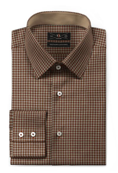 Brown flannel checked Shirt http://www.tailor4less.com/en-us/men/shirts/4337-brown-flannel-checked-shirt