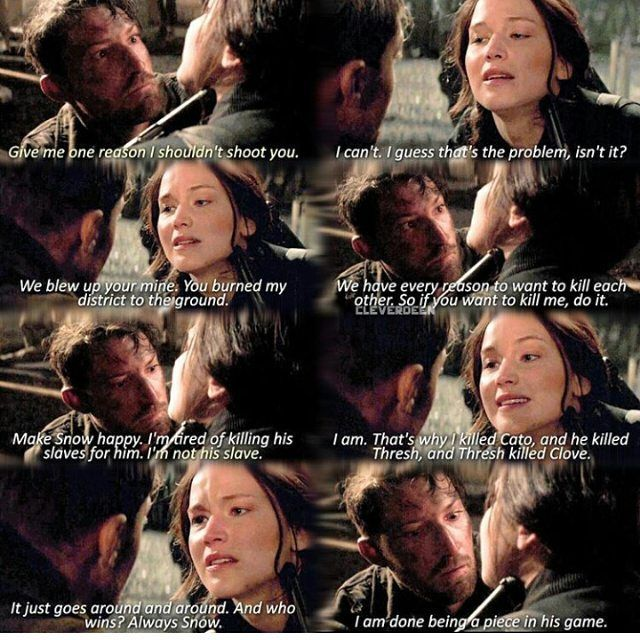 OMG I LOVED THIS PART IN MOCKINGJAY PART TWO!!!!!!!!!! ❤️❤️❤️❤️