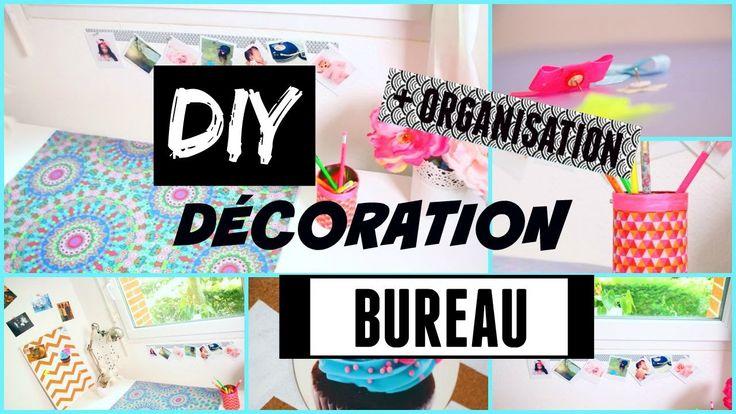 diy diy back to school deco bureau diy francais. Black Bedroom Furniture Sets. Home Design Ideas