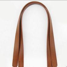 Toptan 20 adet = 10 çift/grup Deri DIY çanta handle. Hakiki Inek Derisi deri el yapımı çanta Kemer Deri kayış 60 Cm * 1.9 CM(China (Mainland))