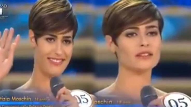 Miss Italia 2015 y su polémica respuesta