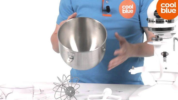 KitchenAid Heavy Duty K5 Mixer keukenmachine productvideo (NL/BE)
