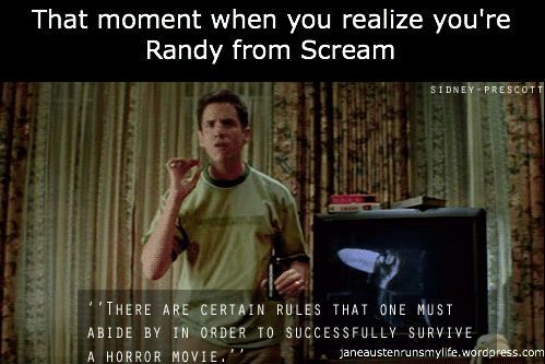 Day 4 of Horrorfest. Counting down the days of Halloween with What's Your Favorite Scary Movie?: Scream (1996)