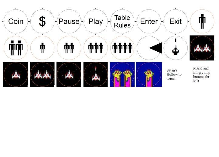 30 Best Arcade Button Inserts Images On Pinterest Arcade