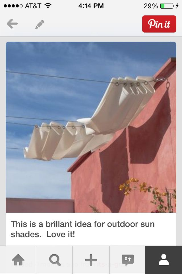 Great idea for back patio cover