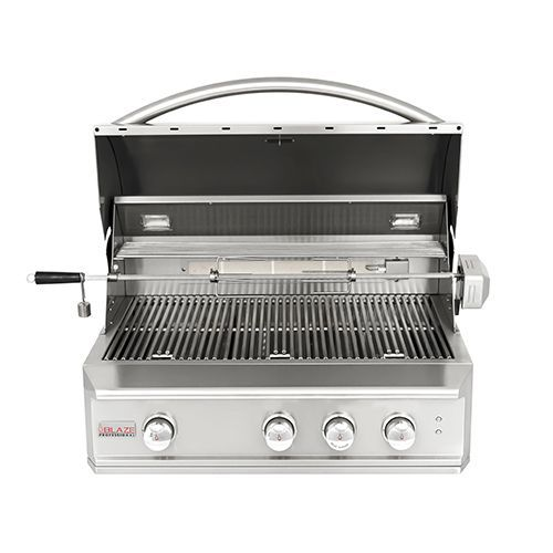"""Blaze Professional 34"""" Built-In 3-Burner Gas Grill Secondary Image"""