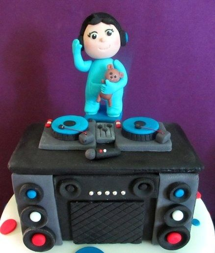 7 best dj cake images on pinterest | friends, cake designs and food