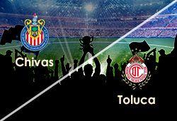 ABIERTAS LAS APUESTAS  DOMINGO 01 DE SEPTIEMBRE Chivas Vs Toluca LIGA MEXICANA  www.hispanofutbol.com