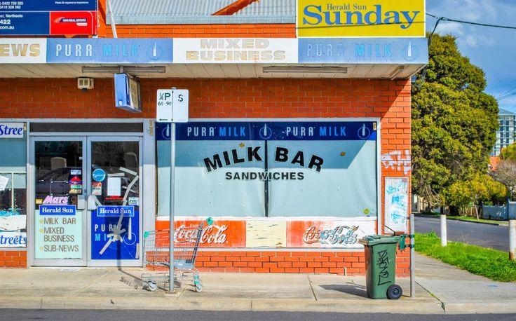 Photographing the Last of Australia's Milk Bars