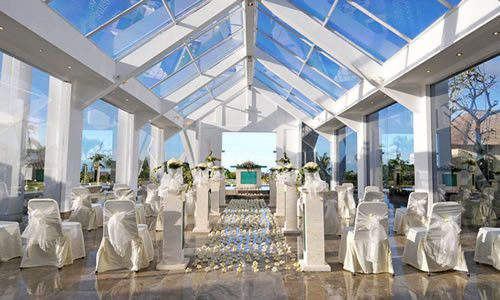 beautiful wedding place
