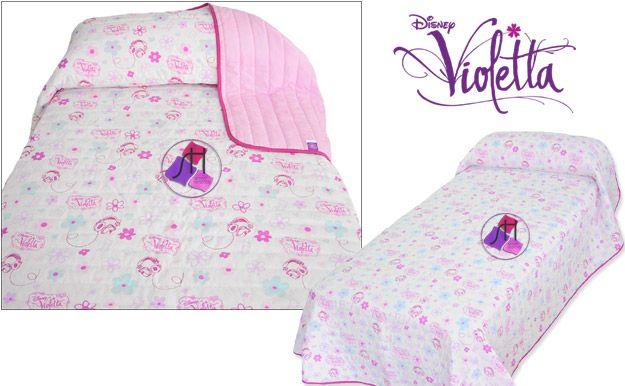 Edredón Disney Violetta. Producto oficial.