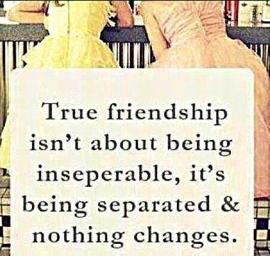 True friendship quote via Carol's Country Sunshine on Facebook