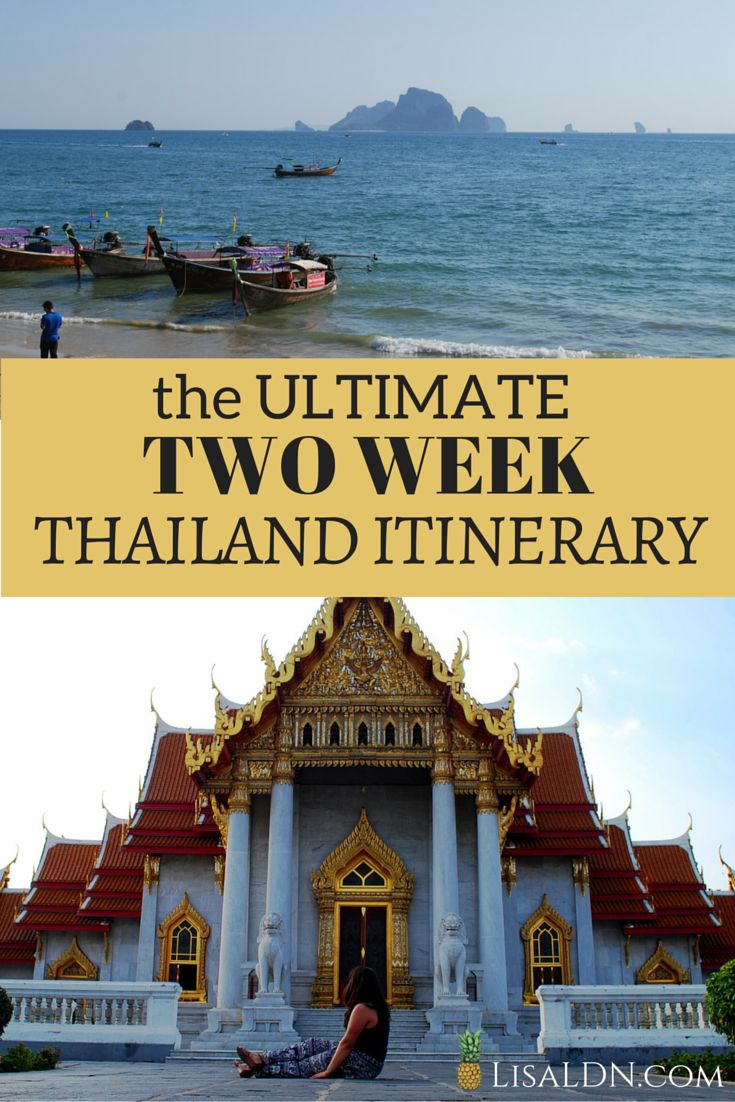 Going to Thailand soon? This is the ULTIMATE Two Week Thailand Itinerary!