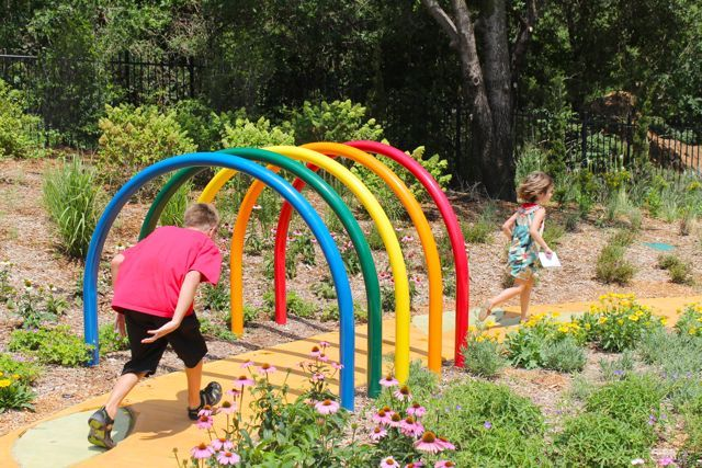 this would be fun as part of an obstacle course or you could make a giant croquet game using this concept summer fun pinterest pool