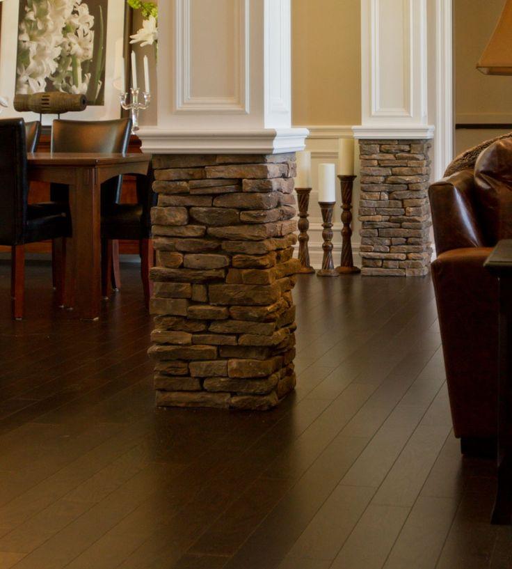Interior Living Room Columns Hudson Bay Southern
