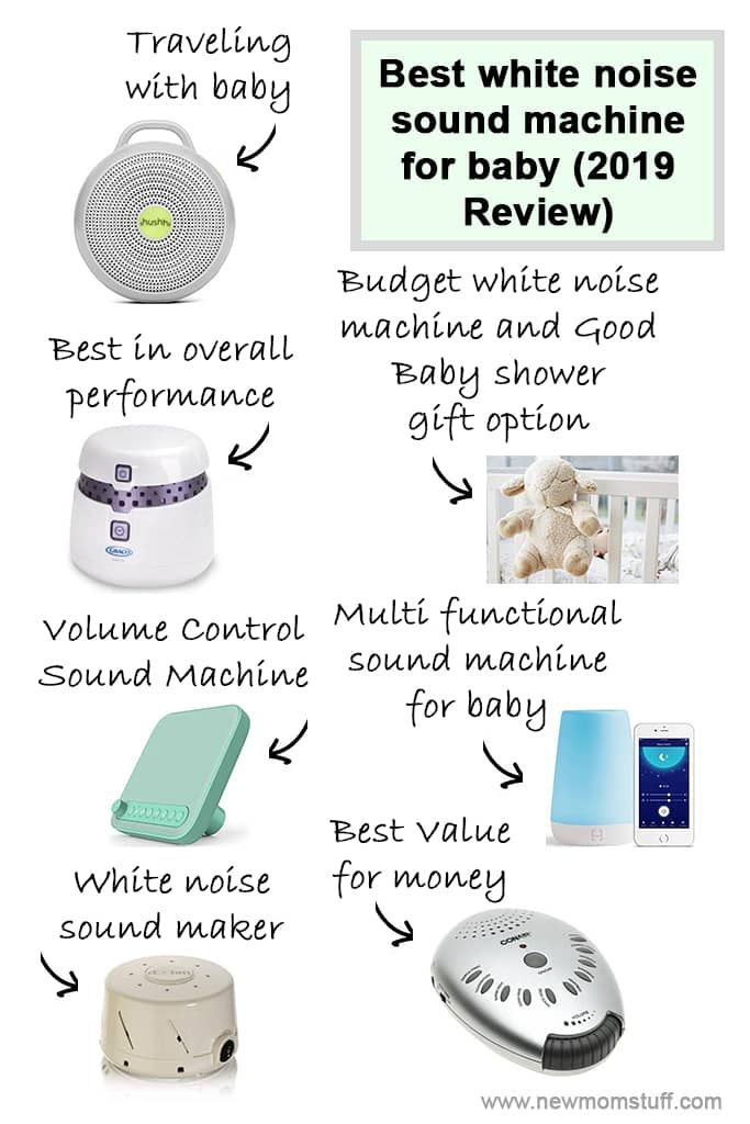 Best white noise sound machine for baby (2019 Review) | New