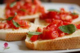 Bruscheta de Tomatinho