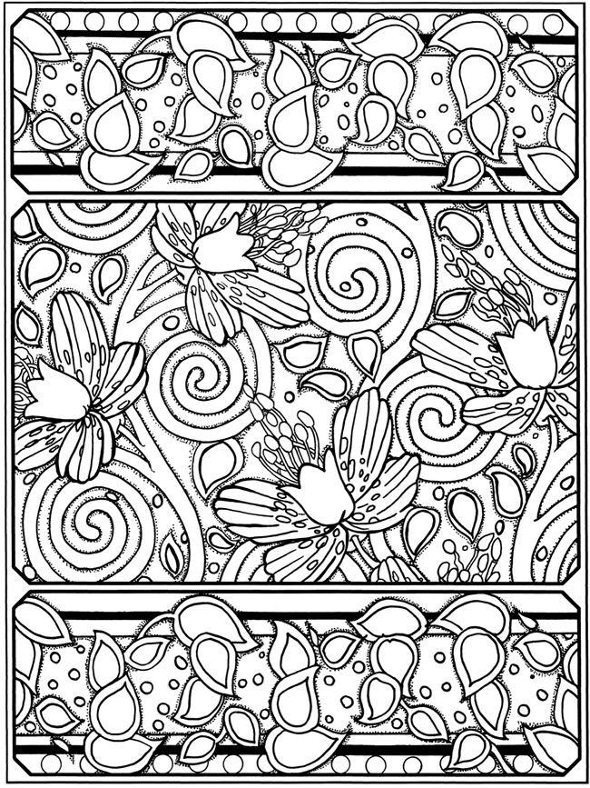 Creative Haven Art Deco Sample Pages Dover Publications