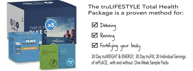 Monthly weight loss pack with meal replacement shakes to revive, fortify and detox the body