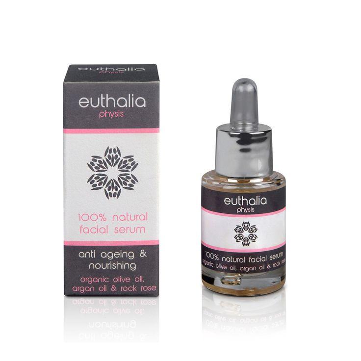 Show details for 100% Natural facial Serum Anti Ageing & Nourishing 15ml - Euthalia
