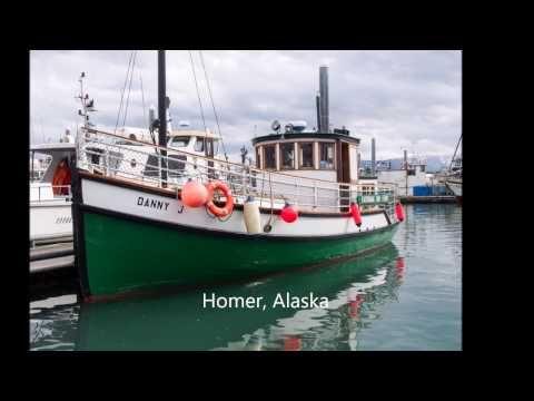 Homer, Alaska – Miljoonan dollarin maisemat ja Halibut Cove | Ison veen rannalla