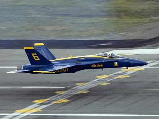 F18 Hornet Blue Angel