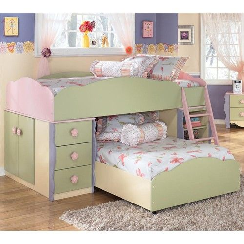 signature design by ashley doll house twin loft bed with builtin drawers doors and shelves marlo furniture loft bed alexandria virgi