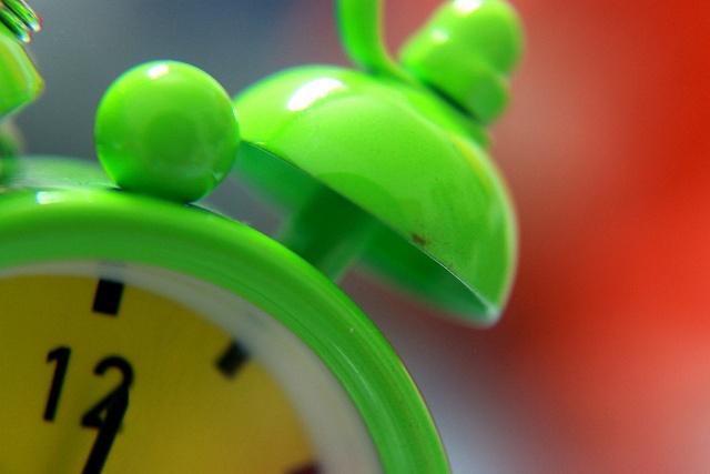 Macro _ Green Clock by vinamra bansal, via Flickr