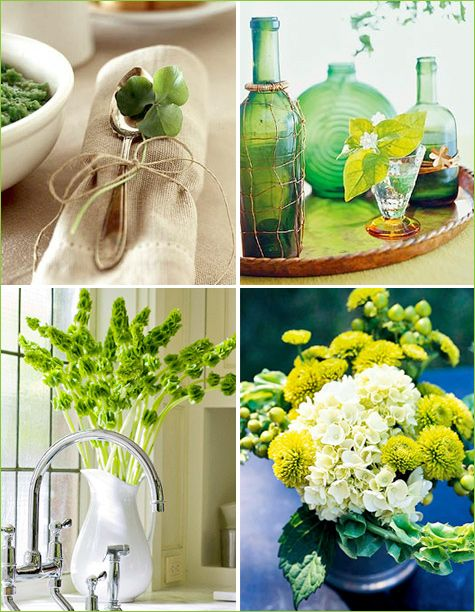 St. Patrick's Day Natural Decor