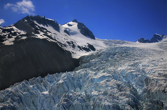 Franz Josef Glacier, New Zealand - I'd not seen on TV but I want to go!