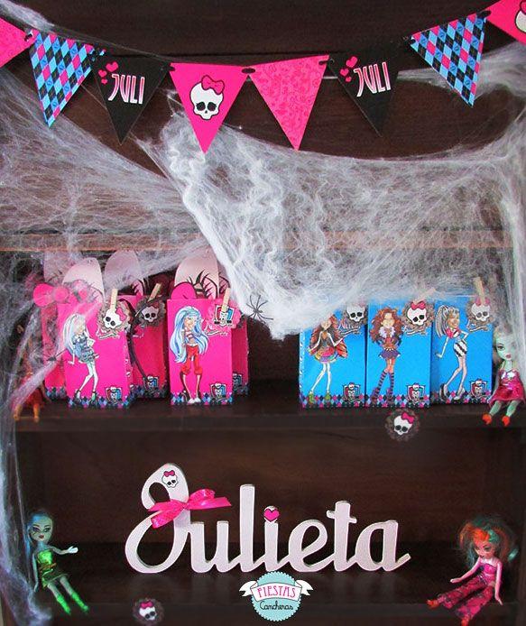 bolsitas-personalizadas-cumpleanos · Monster High BirthdayIdeas Para Fiestas MonstersPersonalized Tote BagsPaper PlatesMonster ... & 33 best Cumpleaños Monster High images on Pinterest | Monster high ...