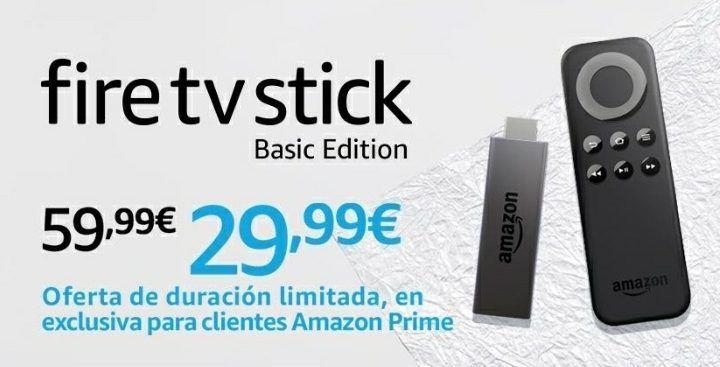 8122e521e2b Oferta Black Friday! Amazon Fire TV Stick por sólo 2999 (Exclusivo Prime)