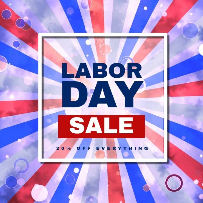 Labor Day Sale Video Template German Unity Day Day Flyer Design Templates