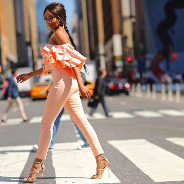 Bonang Matheba at NYFW - BN Style - BellaNaija.com - 05