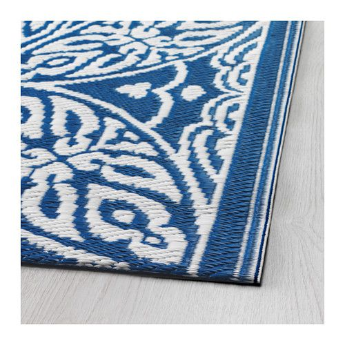 Ikea Sommar Rug Flatwoven The Is Perfect For Outdoor Use Because It S Water Resistant And Made Easy Care If Gets Dirty You Can Wipe