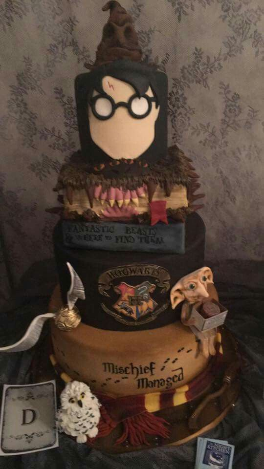 Cake Designs Harry Potter : 1000+ ideas about Harry Potter Cakes on Pinterest Harry ...