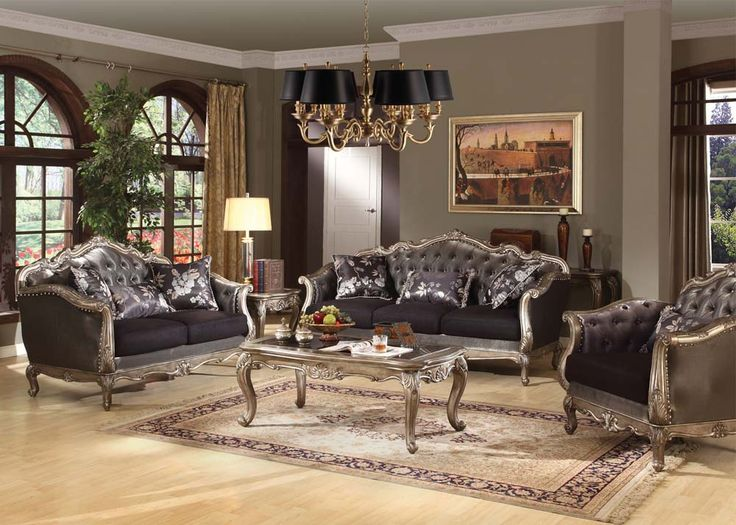 Luxury Traditional Living Room Furniture acme furniture | product lists | ideas for the house | pinterest