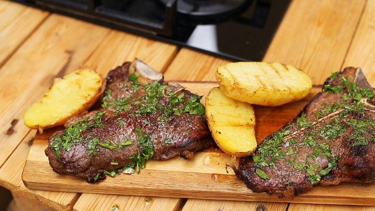 T-bone steak sütés, ahogy azt kell! * Fördős Zé Magazin