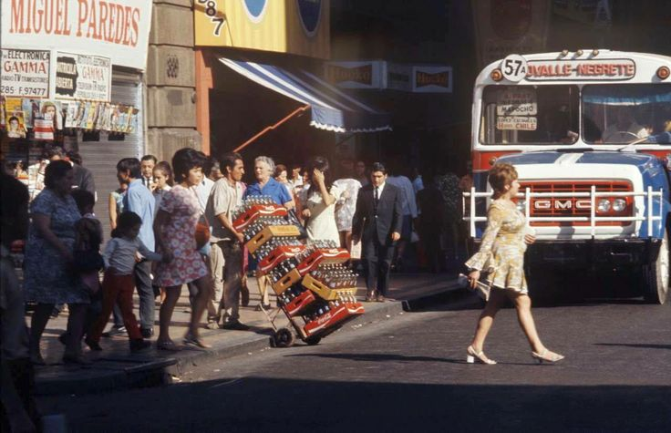 Calle Ahumada 1971