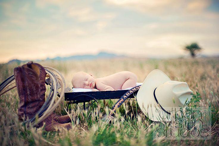 Cowboy Newborn Theme