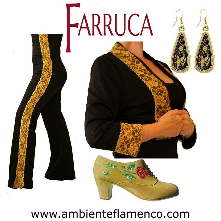 Jacket and pants available at www.ambienteflamenco.com