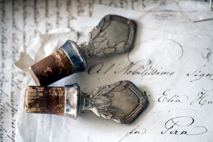 French Antique Wine Bottle Stoppers