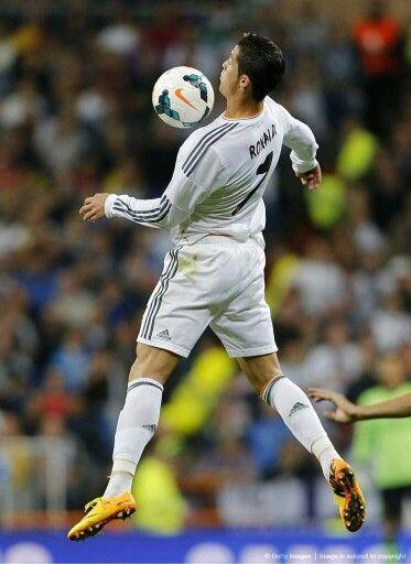 Cristiano Ronaldo. My favorite fútbol player