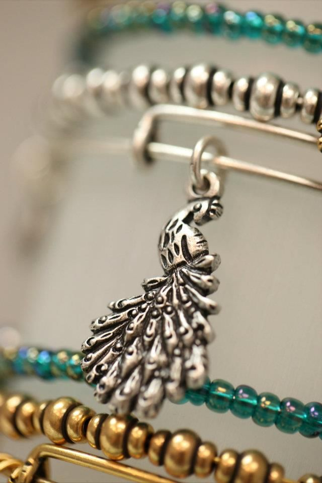 Flaunt Boutique exclusive Alex and Ani Peacock bangle #FlauntRI Available only at http://flauntri.com/