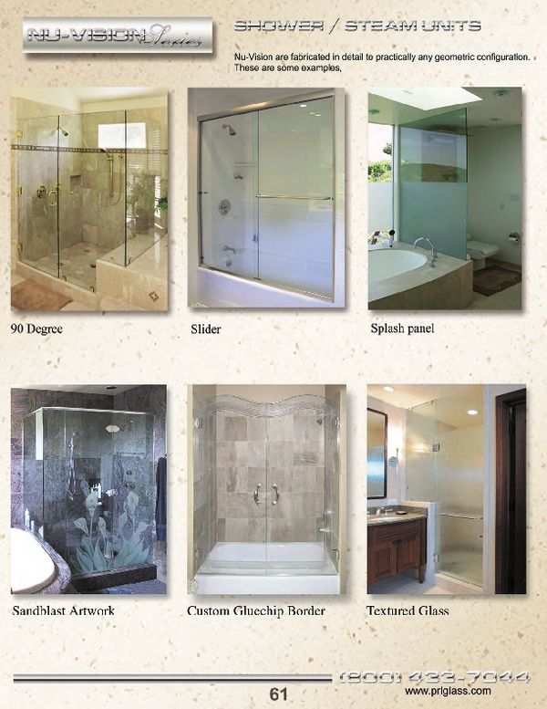 PRL offers from traditional all glass shower door styles to the most elegant and contemporary styles & 85 best Shower Door Systems images on Pinterest | Shower doors ... pezcame.com