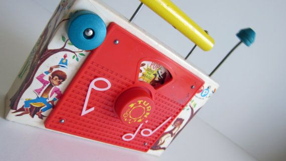 Vintage Fisher Price tv Pop goes the weasel music box | Fisher price, Fisher and Vintage fisher ...